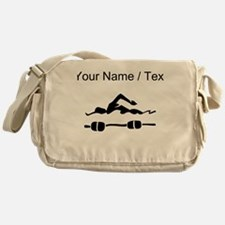 Custom Swimmer Messenger Bag