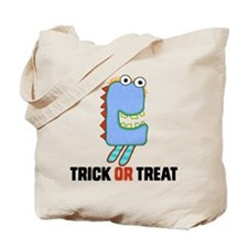 Trick Or Treat Miggy Monster Tote Bag