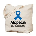 Alopecia Awareness Quote Tote Bag