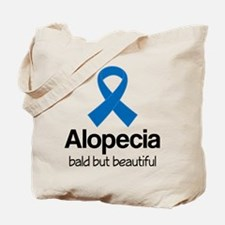 Alopecia Awareness Quote Tote Bag