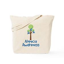Alopecia Awareness Tree Tote Bag
