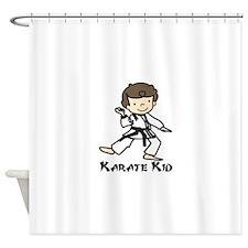 Karate Kid Shower Curtain