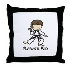 Karate Kid Throw Pillow