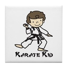 Karate Kid Tile Coaster
