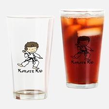 Karate Kid Drinking Glass