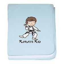 Karate Kid baby blanket