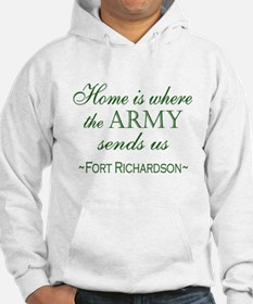 Funny Welcome home military wife Hoodie