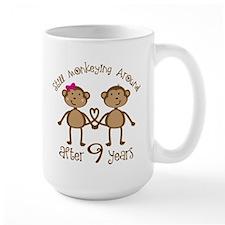 9th Anniversary Monkeys Mugs