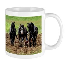 Horse Plow Mugs
