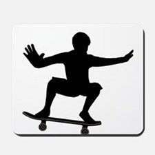THE SKATEBOARDER Mousepad