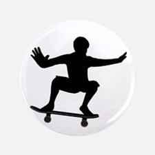 "THE SKATEBOARDER 3.5"" Button"