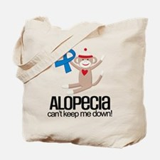 alopecia Awareness Monkey Tote Bag