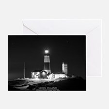 Long Island. Montauk Point Light. Greeting Cards