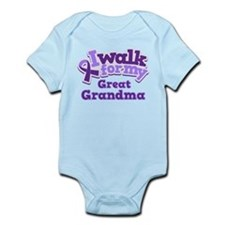Cute Alzheimers disease Infant Bodysuit