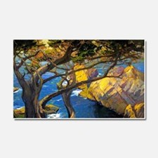 Trees Monterey Art Car Magnet 20 x 12