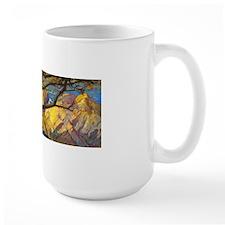 Trees Monterey Art Mugs