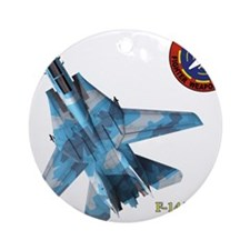 Funny Maverick Ornament (Round)