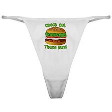 Unique Big butt ass Classic Thong