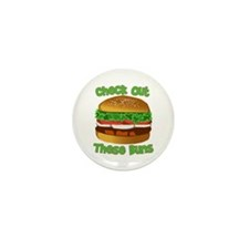 Check Out These Buns Mini Button (10 pack)