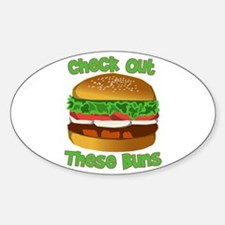 Check Out These Buns Decal