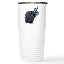 American Chinchilla Rabbit Travel Mug