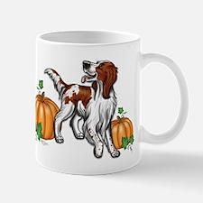 Irish Red White Setter Autumn Mug Mugs