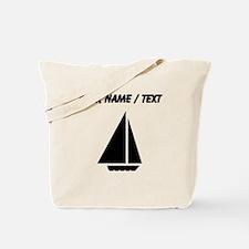 Custom Sail Boat Tote Bag