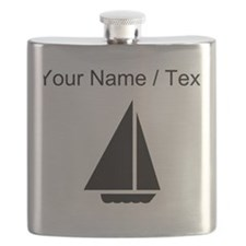 Custom Sail Boat Flask