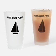 Custom Sail Boat Drinking Glass