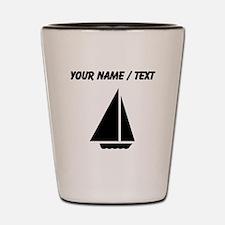Custom Sail Boat Shot Glass