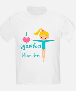 Teal Gymnast T-Shirt