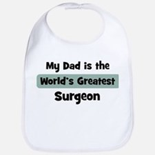 Worlds Greatest Surgeon Bib