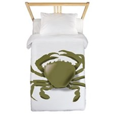 Green Crab Twin Duvet