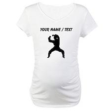 Custom Martial Artist Silhouette Shirt