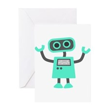 Cute Robot Greeting Cards