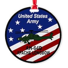 Unique Apache helicopter Ornament