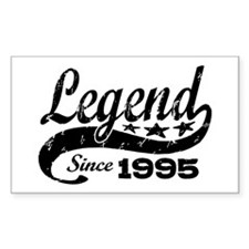 Legend Since 1995 Decal