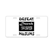 DAESH Aluminum License Plate