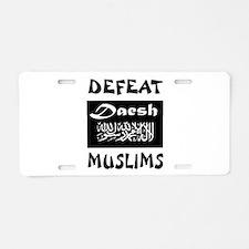 DAESH Aluminum License Plate
