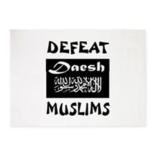 DAESH 5'x7'Area Rug