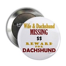 Wife & Dachshund Missing Button