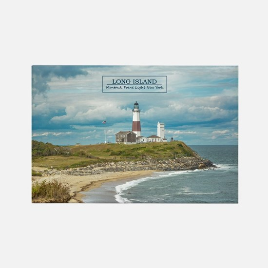 Long Island. Montauk Point Light. Magnets