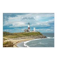 Long Island. Montauk Poin Postcards (package Of 8)