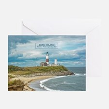 Long Island. Montauk Poi Greeting Cards (pk Of 10)