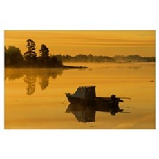 Fishing Boat, Mayfield, Prince Edward Island, Cana Poster