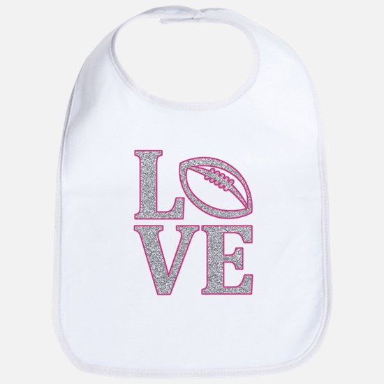 Football Love Bib