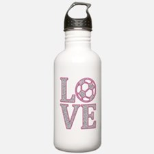 SOCCER LOVE Water Bottle