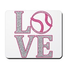 Baseball LOVE Mousepad