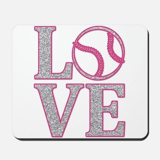 Baseball LOVE Mousepad