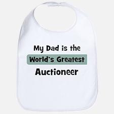 Worlds Greatest Auctioneer Bib